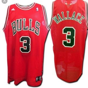 Chicago Bulls adidas Wallace 3 jersey size 3xl